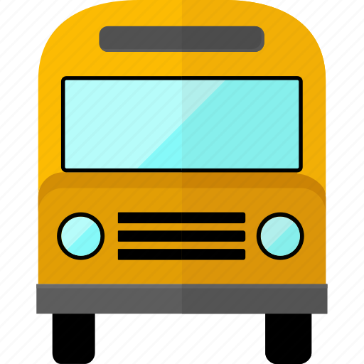 bus, car, public bus, transport, transportation, travel icon