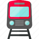 railways, subway, subway train, train, transport, travel, vehicle icon