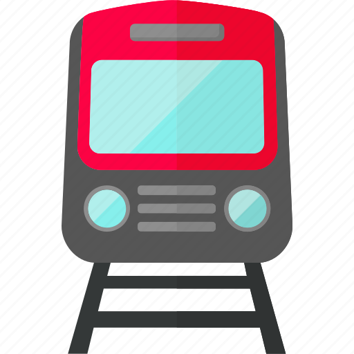 railways, subway, subway train, train, transport, travel, vehicle icon