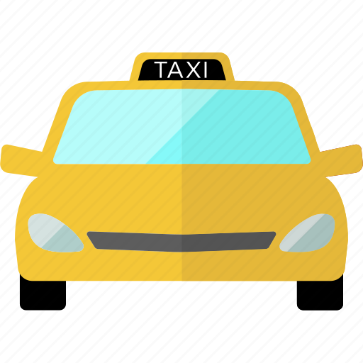 cab, car, taxi, transportation, travel, vehicle, yellow taxi icon