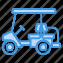 golf, cart, automobile, vehicle, drive icon