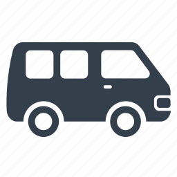 car, family, transport, van, vehicle icon