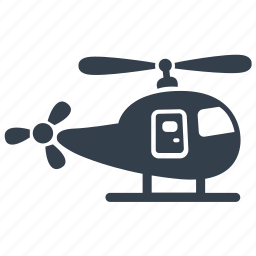emergency, flying, helicoptor, transport icon
