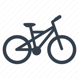 bicycle, bike, cyclist, rider icon