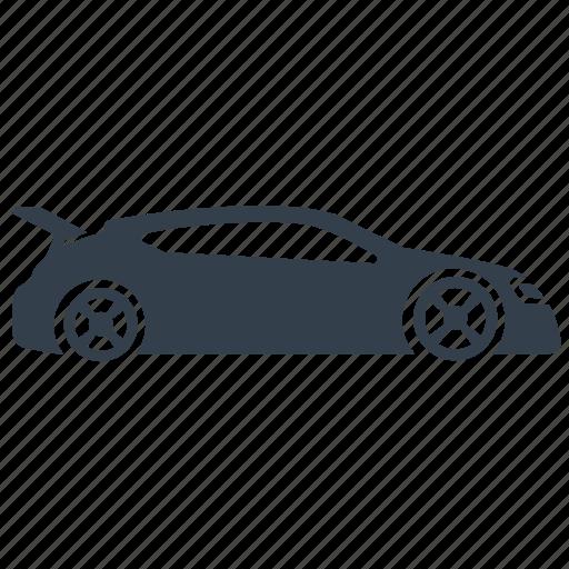 car, cool, racing car, sleek, sports, sports car, street race icon