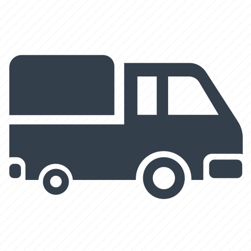 delivery, freight, truck icon