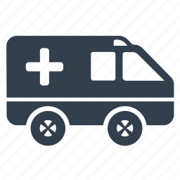 ambulance, emergency, transport icon