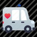 ambulance, first aid, medical, vehicle