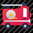 emergency, fire truck, firefighting, vehicle