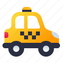 cab, city, taxi, vehicle