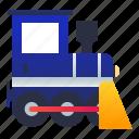 locomotive, railway, train, vehicle