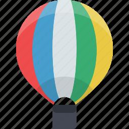 air, air balloon, balloon, transport, transportation, travel icon