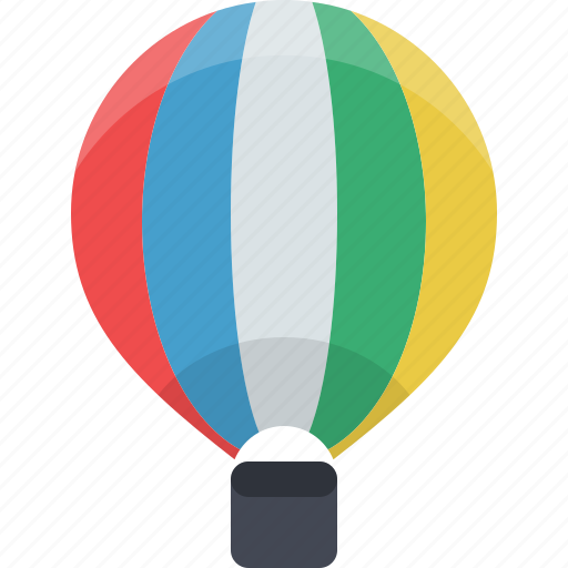 Air, balloon, transportation, travel, air balloon, transport icon - Download on Iconfinder