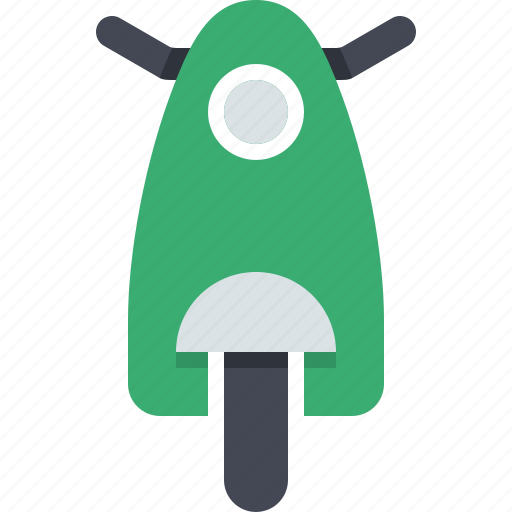 bike, motorbike, scooter, transport, transportation, vehicle, vespa icon