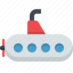 bathyscaphe, marine, nautical, submarine, underwater icon