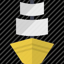 boat, marine, nautical, ocean, sail, sea, yawl icon