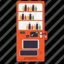 alcohol dispenser, champagne machine, coin machine, kiosk machine, vending machine icon
