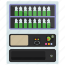 automated machine, coin machine, kiosk machine, milk machine, vending machine icon