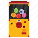 automated machine, coin machine, game vending, kiosk machine, vending machine icon