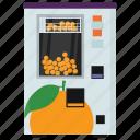 automated machine, coin machine, fruit vending, kiosk machine, vending machine icon