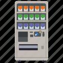 automated machine, cigarette machine, coin machine, kiosk machine, vending machine icon