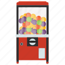 automated machine, coin machine, gumball vending, kiosk machine, vending machine icon