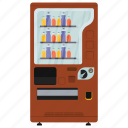 automated machine, coin machine, drinks machine, kiosk machine, vending machine icon