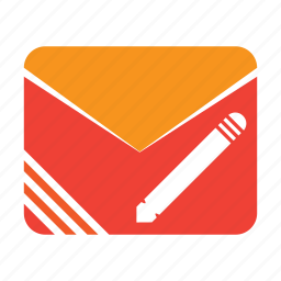 edit, email, mail, post icon