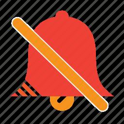 bell, no, notice icon