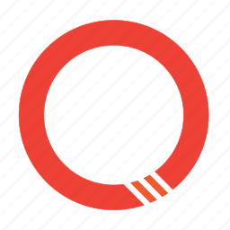 circle, record, share icon