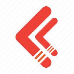 arrow, arrows, rewind icon