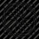 blade, fan, pc, plastic, rotate, rotor