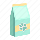 animal, feed, medicine, package, vet clinic icon
