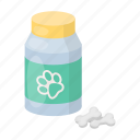 animal, can, medicine, pet, vet clinic icon