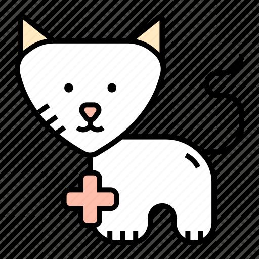animal, cat, medicine, pet, veterinary icon