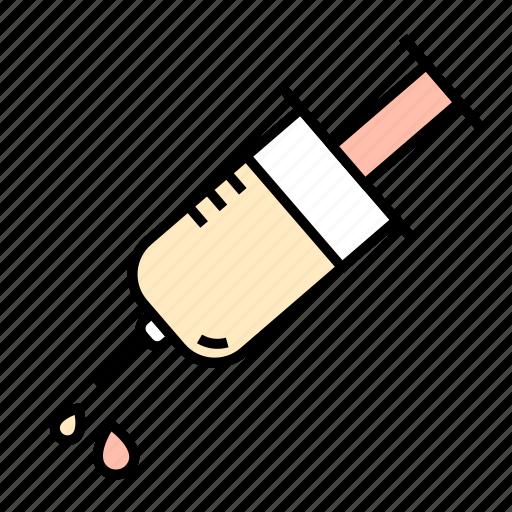 Blood, medical, prick, syringe, medicine icon - Download on Iconfinder