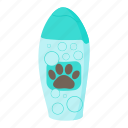 animal, blog, cartoon, pet, shampoo, site, soap icon