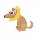 blog, brace, cartoon, dog, health, neck, site icon