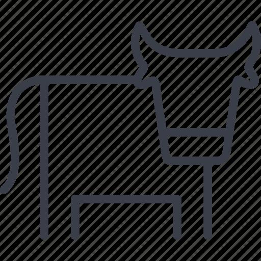 animal, cow, farm, vet, veterinary icon