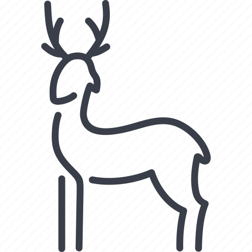 animal, deer, nature, vet, veterinary icon