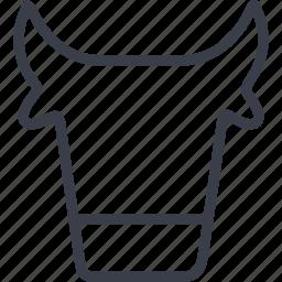 animal, cow, nature, pet, veterinary icon