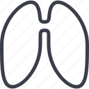 health, healthcare, lungs, medicine, veterinary icon