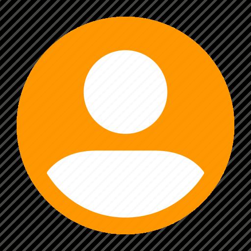 account, action, avatar, profile, user icon