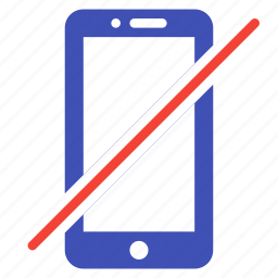 action, call, device, no, phone, smartphone, tel icon
