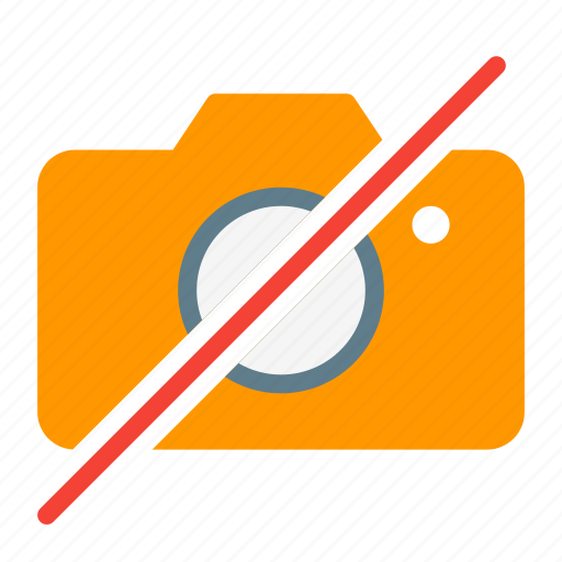 action, camera, capture, image, no, photo, picture icon