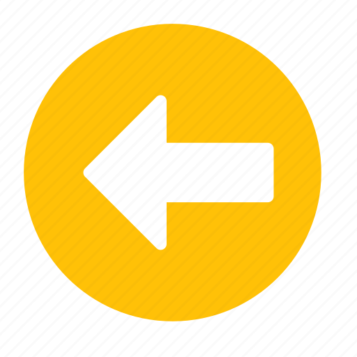 Arrow, back, backward, direction, left, previous icon - Download on Iconfinder