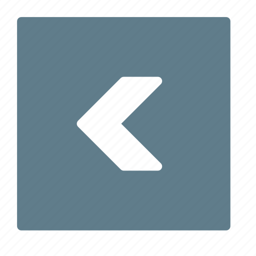 arrow, back, backward, direction, left, previous icon