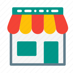 building, buy, house, sale, sell, shop, shopping icon