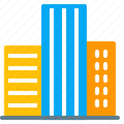 building, city, company, house, office, school, tower icon