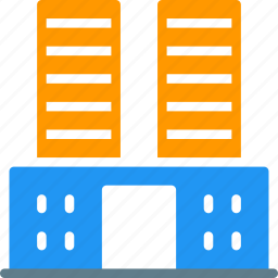 building, company, house, office, school, tower icon
